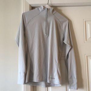 Patagonia lightweight 1/4 zip running shirt